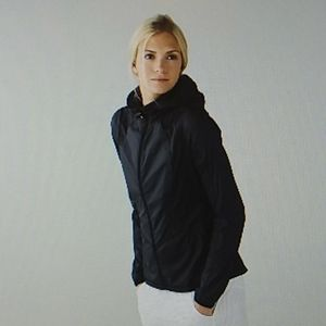 Lululemon back pack it jacket black small 2